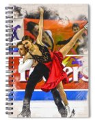 Kaitlin Hawayek And Jean-luc Baker  Spiral Notebook