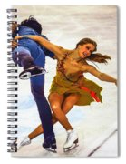 Kaitlyn Weaver And Andrew Poje Spiral Notebook