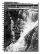 Kakabeka Falls Two Spiral Notebook
