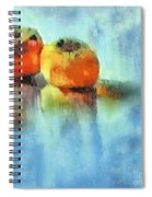 Kaki Couple Spiral Notebook