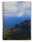 Kalalau Storm Clearing Spiral Notebook