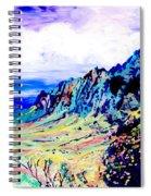 Kalalau Valley 4 Spiral Notebook