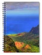 Kalalau Valley Spiral Notebook