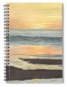 Kalaloch Sunset II Spiral Notebook