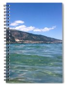Lake Of Many Colours Spiral Notebook