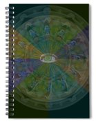 Kaleidoscope Eye Spiral Notebook