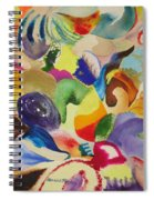 Kaleidoscope I Spiral Notebook