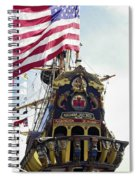 Kalmar Nyckel Tall Ship Spiral Notebook