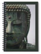Kamakura Buddha Spiral Notebook