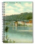 Kanawha Bridge Spiral Notebook