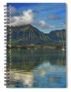 Kaneohe Bay Oahu Hawaii Spiral Notebook