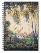 Kangaroo Kingdom Spiral Notebook
