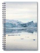 Kangia Icefjord Spiral Notebook