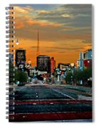 Kansas City Evening Spiral Notebook