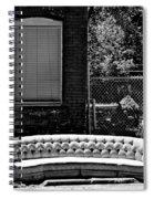 Kansas City Couch Spiral Notebook