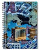 Kansas City Jazz Mural Spiral Notebook