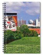 Kansas City Sky Line Spiral Notebook