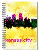 Kansas City Skyline 1 Spiral Notebook
