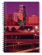 Kansas City Skyline 1991 Spiral Notebook
