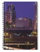 Kansas City Skyline 1998 Spiral Notebook