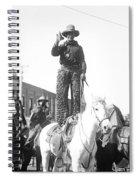 Kansas: Cowboy, C1908 Spiral Notebook