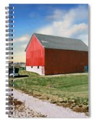 Kansas Landscape II Spiral Notebook