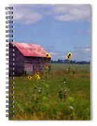 Kansas Landscape Spiral Notebook