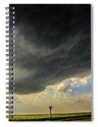 Kansas Storm Chasing 008 Spiral Notebook