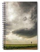 Kansas Storm Chasing 009 Spiral Notebook