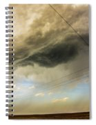 Kansas Storm Chasing 016 Spiral Notebook
