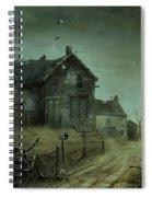 Kansas Twister Spiral Notebook
