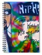 Kanye West Stronger Spiral Notebook