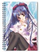 Kao No Nai Tsuki Spiral Notebook