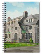 Kappa Delta Rho South View Spiral Notebook