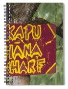 Kapu Hana Wharf Spiral Notebook