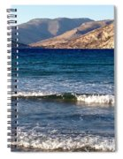 Kardamila Chios Greece Spiral Notebook