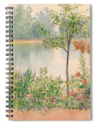 Karin By The Shore Spiral Notebook