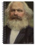 Karl Marx  Spiral Notebook