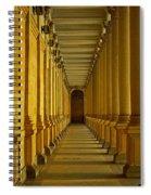 Karlovy Vary Colonnade Spiral Notebook