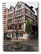 Karlsbaderplatz Bernkastel Kues Germany Spiral Notebook