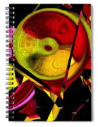Karma Wheel Spiral Notebook