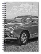 Karmann Ghia Coupe I I I Spiral Notebook