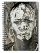 Karo Man Spiral Notebook