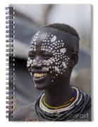 Karo Tribe Female Spiral Notebook