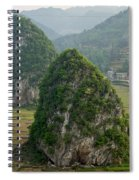 Karst Landscape, Guangxi China Spiral Notebook