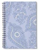Kasbah Blue Paisley II Spiral Notebook