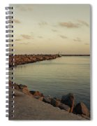 Kasimedu Pier, Chennai Spiral Notebook