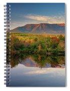 Katahdin At Sunset Spiral Notebook