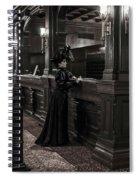 Kate Morgan Checking In At The Hotel Del Coronado Spiral Notebook