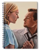 Kate Winslet And Leonardo Dicaprio Spiral Notebook